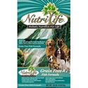 Nutri Life Grain Free Fish Dog Food nutri life, grain free, fish, Dry, dog food, dog